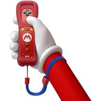 Controle Wii U Remote Motion Plus Edição Mario + Nunchuck