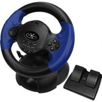 Volante Com Pedal Para Pc Ps3 Ps004j Integris