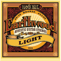 Encordoamento Para Violão 011 Ernie Ball Earthwood 2004