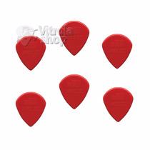 Kit 6 Palhetas Dunlop Jazz Iii 3 Vermelha Jim Dunlop Loja