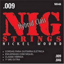 Encordoamento Guitarra Nig Nh66 .009/.046 Híbrido