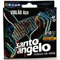 Encordoamento P/ Violão Aço Santo Angelo 0.10/047 - Ec0051