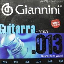 Encordoamento Para Guitarra 013 Giannini