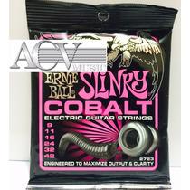Set De Cordas Ernie Ball Slinky Cobalt 0.9 Menor Preço!
