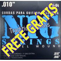 Encordoamento /cordas Nig Guitarra N64 010-046 Frete Grátis!