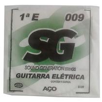 Corda Avulsa E (mi) 1ª Para Guitarra 009 - Sg