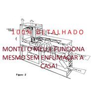 Fogão A Lenha-projeto Completo---frete Gratis.
