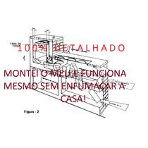 Projeto Fogão A Lenha+projeto Churrasqueira---frete Gratis.