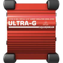 Gi100 Direct Box Ativo Behringer Ultra-g Gi 100 P/ Guitarra