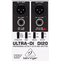 Di20 Direct Box Ativo Behringer Ultra Di-20 Di 20 Original