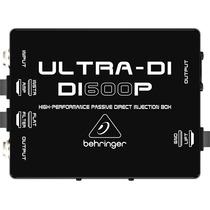 Direct Box Passivo Profissional Ultra-di Di600p Behringer