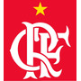 Escudo Crf Flamengo Vinil Emborrachado Termocolante !!!