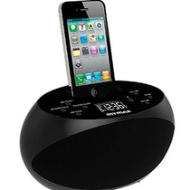 Dock Station Caixa Som Iphone 4 4s Ipod Radio Alarme Carrega