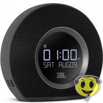 Caixa Jbl Horizon Rádio Relógio Despertador Bluetooth Led