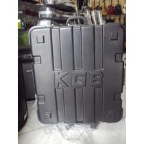Case Para Acordeon 120 E 80 Baixos Super Luxo Kgb C/ Rodinha