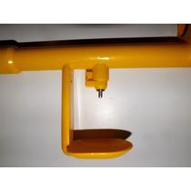 Bebedouro Automático P/ Aves Com 2 Bandeja 2 Niple Tubo Pvc