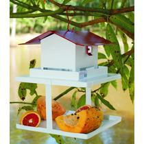 Comedouro De Aves Pássaros Com Fruteira Fercar Anti-formiga