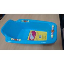 Banheira Para Calopsitas - Plastica Azul Ou Lilas Grande
