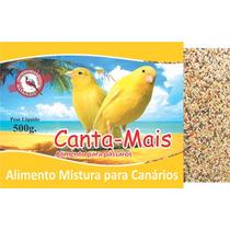 Alimento Ração Mistura Para Canario Canta Mais 10kg