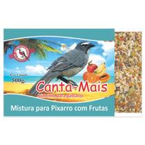 Alimento Ração Mistura P/ Pixarro Com Frutas Canta Mais 3kg
