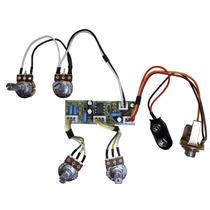 Kit Pré-amplificador Circuito Ativo P/ Baixo- Cp500 Vvbt
