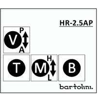 Circuito Bartolini Ativo/passivo Hr2.5ap