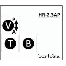 Circuito Bartolini Ativo/passivo Contra-baixo 3 Bandas