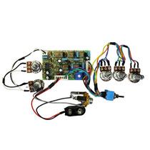 Kit Pré-amplificador Circuito Ativo P/ Baixo- Cp700vvbmtsc