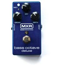Promoção! Dunlop M288 Pedal Mxr Bass Octave Deluxe P/baixo