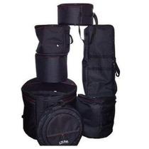 Jogo Bag Bateria Luxo Cr Bag 7 Peças Ziper Lateral Estofada
