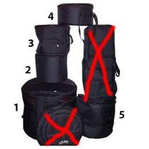 Jogo Bag Bateria Luxo Cr Bag 5 Peças - Frete Gratis