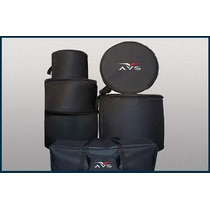 Capa Para Bateria Bumbo 22 Avs Kit 6 Pçs Bag Ferragens