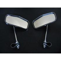 *** Espelhos Retrovisores Cromados Bicicletas Antigas ***