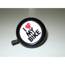 Campainha Buzina Trin Trin Bicicleta Antiga I Love My Bike