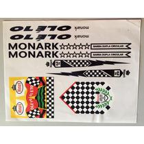 Adesivos Para Bicicletas Antigas, Cartelas! Monark Olé 70