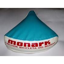 Capa Selim Banco Bicicleta Monark Monareta Ano Olé 70 Azul