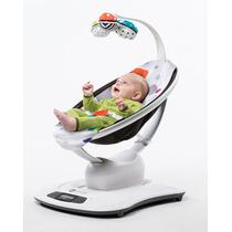 Cadeira De Descanso Bebe Mamaroo 3.0 4moms Multicolor Com Nf