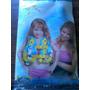 Colete Salva Vidas Inflável P/criança 3 À 5 Anos C/peixinhos