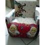 Mini Sofá Infantil Meninas Criança Sofazinho Poltrona Puff