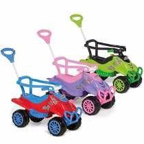 Veículos P/ Passeio Infantil Com Pedal Cross 2 Em 1 Calesita