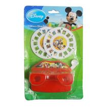 Câmera Divertida Casa Mickey Mouse Disney Vermelha Brinqudo