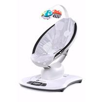 Cadeira De Bebê Mamaroo Silver Plush 4moms Com Garantia E Nf