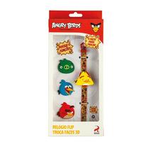 Relógio Flip Angry Birds Troca Faces - Fun