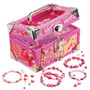 Maleta Porta Miçangas Com Acessórios Barbie - Fun