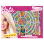 Caixa De Miçangas Barbie Com 100 Peças - Fun