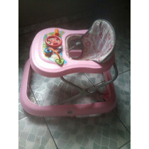 Andador Infantil Feminino Rosa