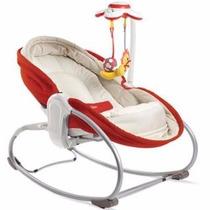 Cadeira De Balanço 3 Em 1 Rocker-napper Vermelho - Tiny Love