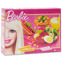 Massinha Barbie Comidinha Divertida - Fun