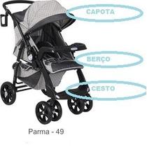 Capa P/ Carrinho De Bebê Classe1 Burigotto Cor - Parma