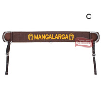 Peiteira Mangalarga Reta Bordada - Bronc-steel